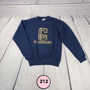 jerzees boys large navy blue sweatshirt